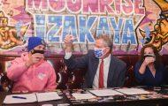 Mayor Takes Shot, Signs Executive Order on UWS