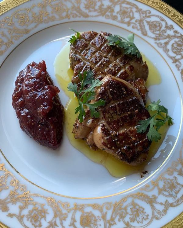 Seared foie gras