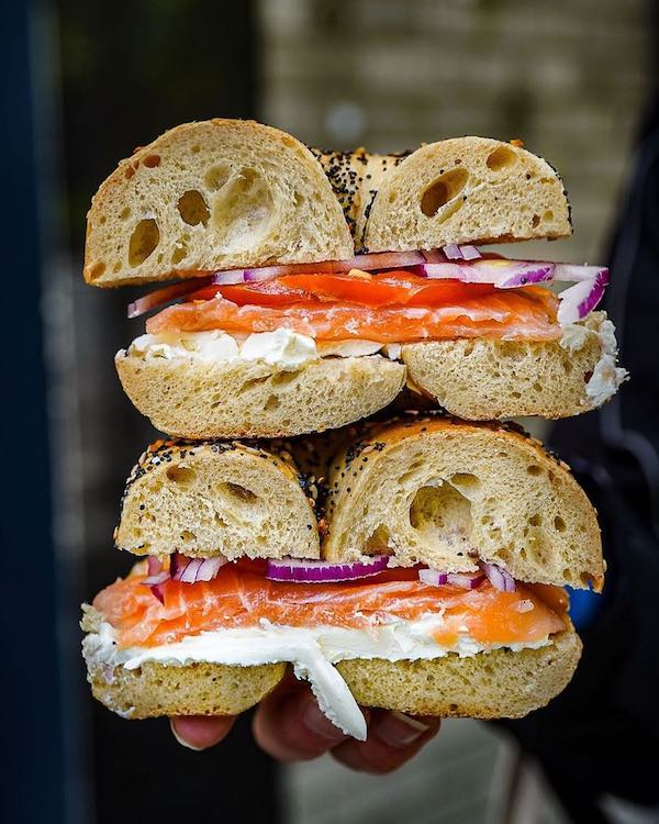 Absolute Bagels Food and Wine List