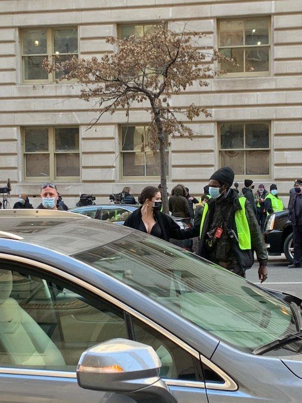 Selena Gomez vista en Nueva York