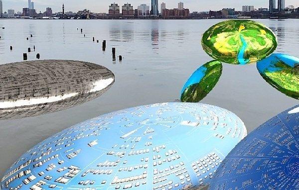 فن تركيب حديقة ريفرسايد 2021