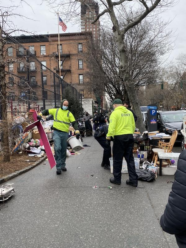 cleaning up hoard uws