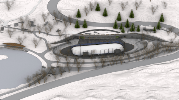new ice skating rink central park