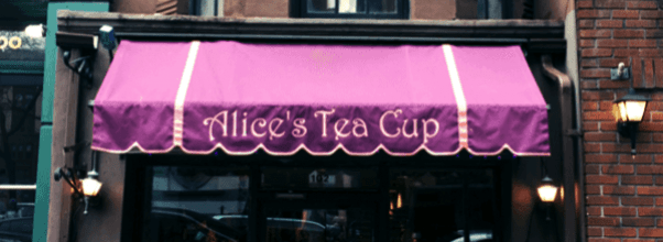 Alice's Tea Cup Reopening