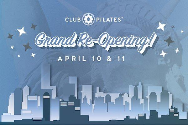 Club Pilates West 57th Grand Reopening