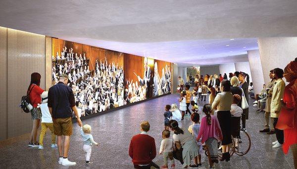 David Geffen Hall Media Wall