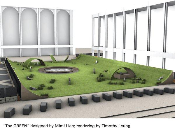 The GREEN Lincoln Center 3D rendering