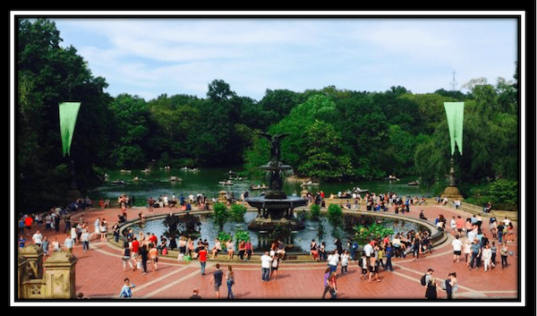 Billions scene Central Park