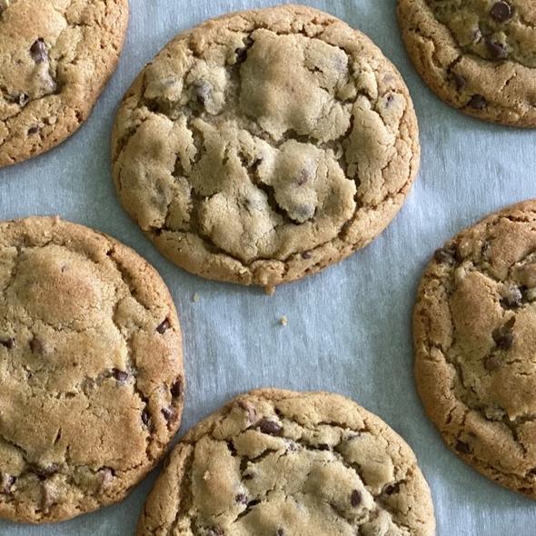Half Baked Chocolate Chip Cookies
