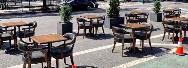 On-Street Dining — A Warning