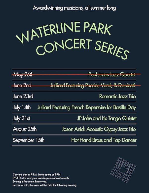 Waterline Square Concerts 2021