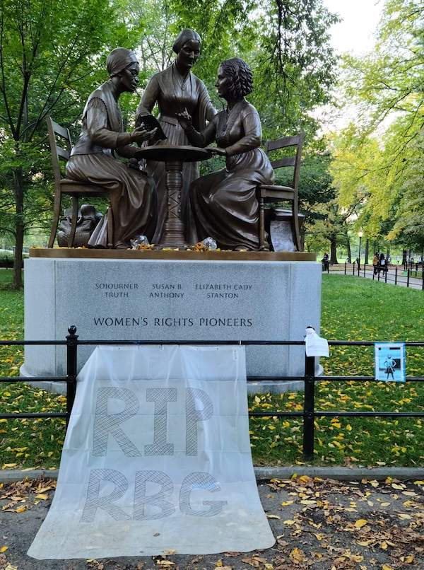 Women's Rights Pioneers Central Park