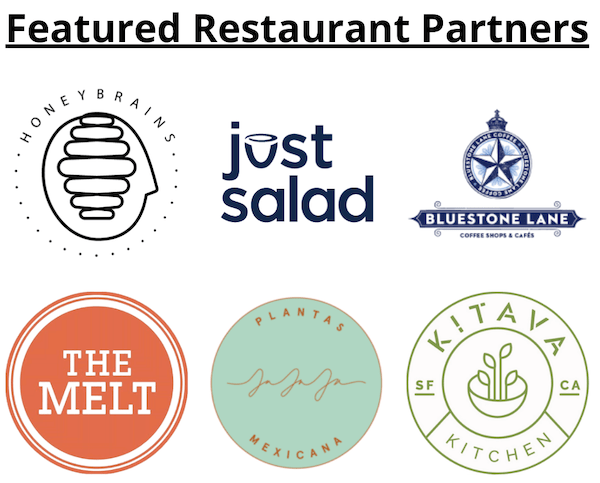 club feast Featured Restaurant Partners