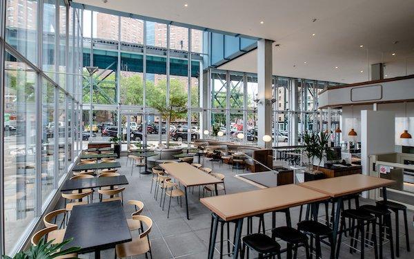 new food hall Columbia University