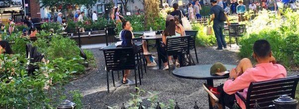 summer in verdi square