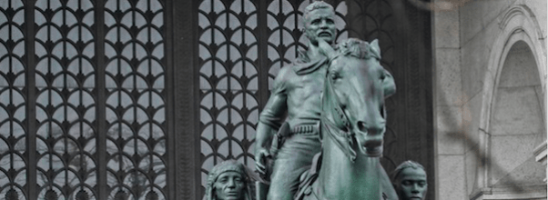 Theodore Roosevelt Statue Vandalized (Again)
