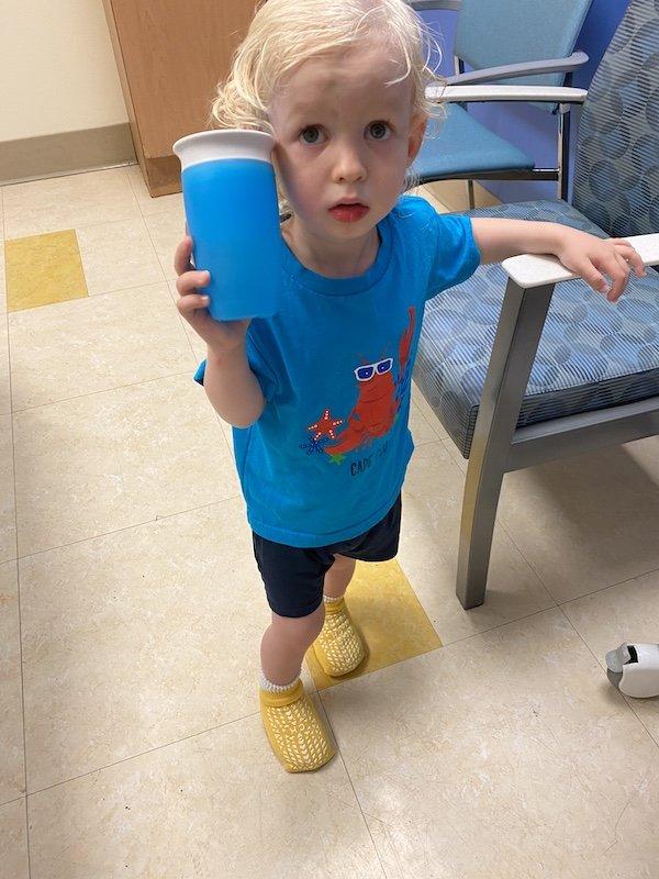 toddler burns feet central park playground
