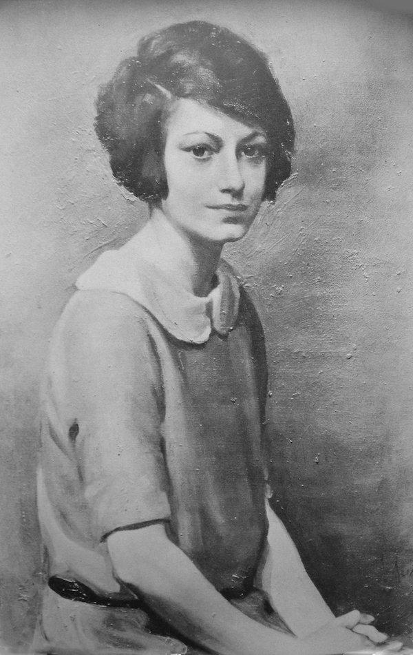 Dorothy Parker portrait