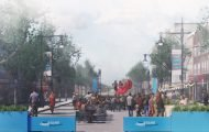 An Open Boulevards 'Kickoff' at 107th and Columbus Ave