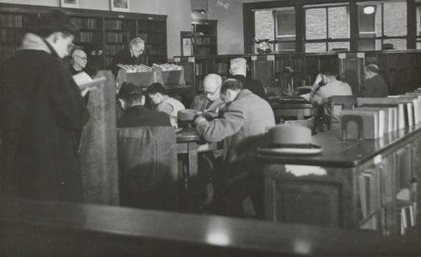 مكتبة سانت أغنيس 1944
