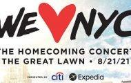 Central Park Homecoming Concert Lineup Announced
