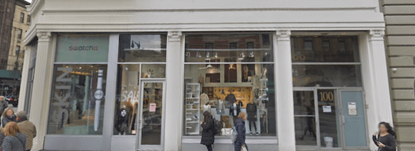 Swatch Store Closes