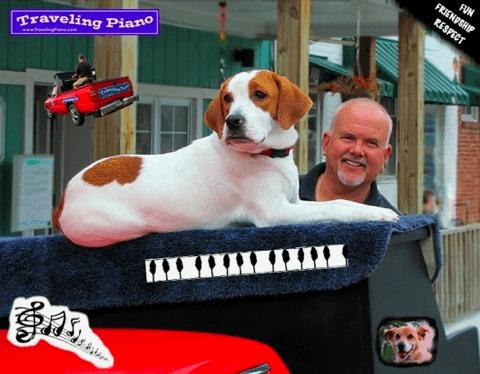 Danny Kean Traveling Piano and Mo