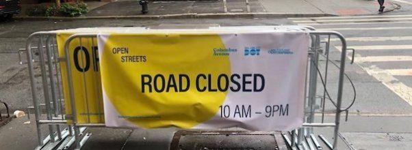"""Columbus Ave will """"Open"""" on Sunday"""