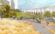 Riverside Park South Enters Final Phase of Construction