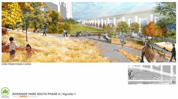 Riverside Park South phase 6 rendering