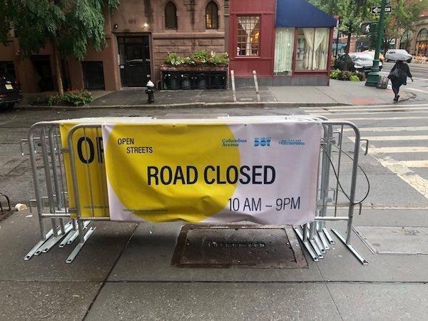 open streets expands columbus avenue