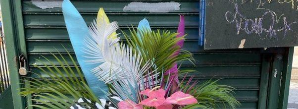 Subway Bouquet Brightens Up Station