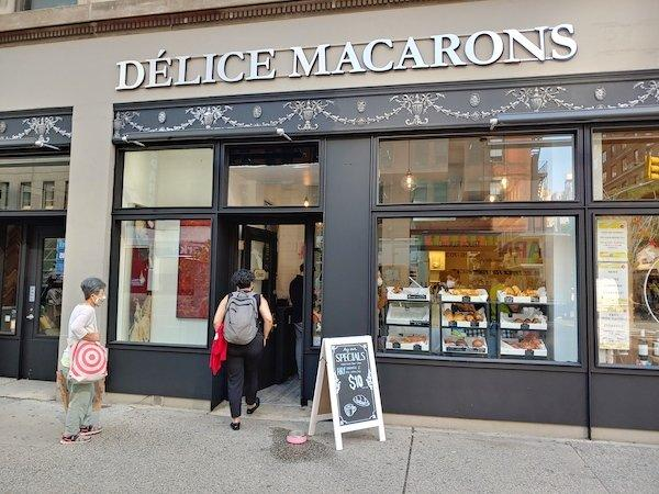 Delice Macarons 321 Amsterdam Ave