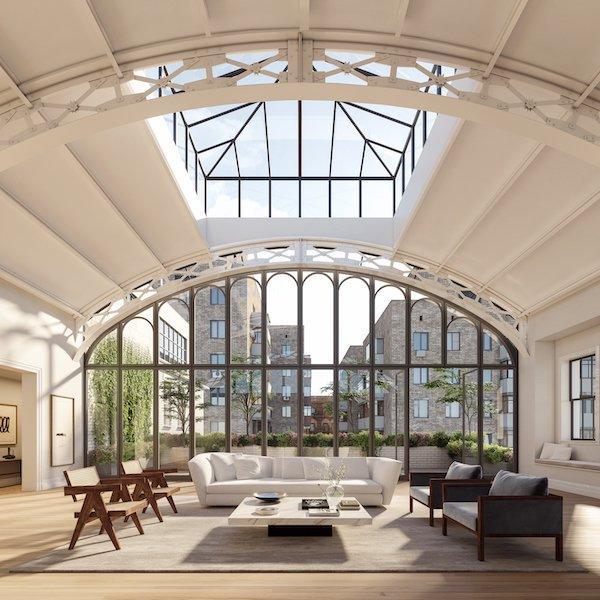 Solarium Penthouse Living Room_Hayes Davidson