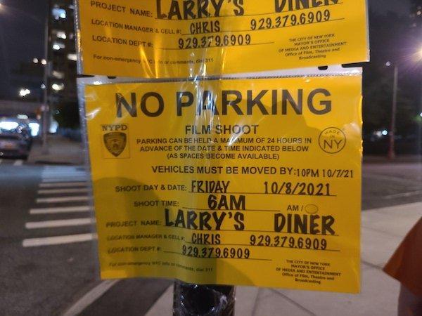 Larry's Diner Dead Ringers