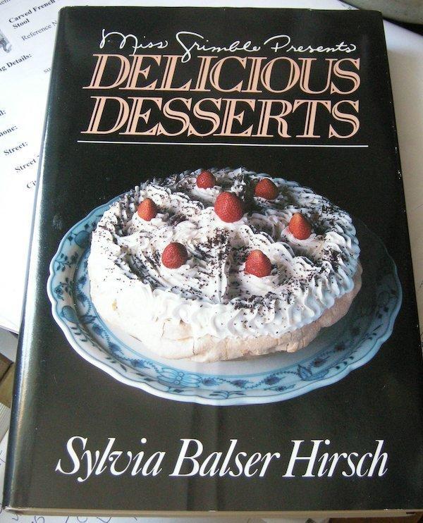 Miss Grimble presents delicious desserts