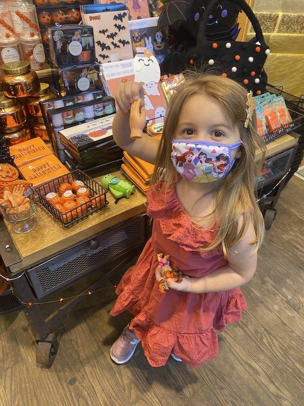 Paper Source halloween shopping