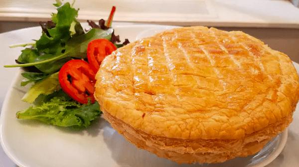 herb chicken pastry pie