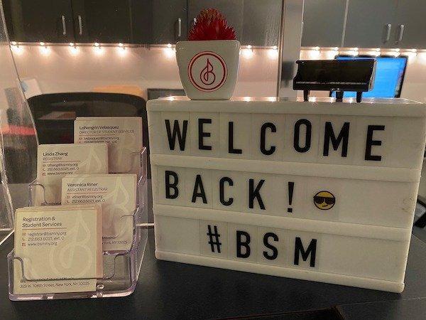 welcome back BSM