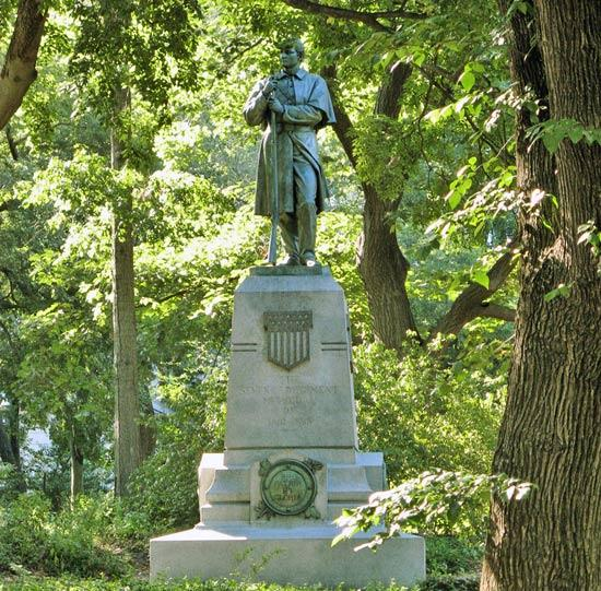 7th Regiment Memorial Statue in Central Park