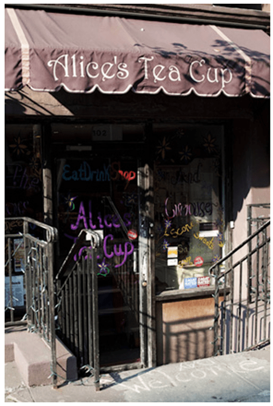 Not Just Tea: Alice's Tea Cup Storefront
