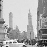 Old Photos Columbus Circle New York City