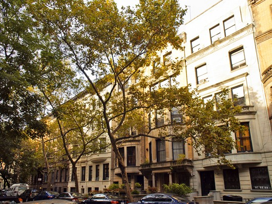 Brownstone Blocks of the Upper West Side