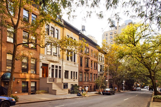 Brownstone Blocks Of The Upper West Side I Love The