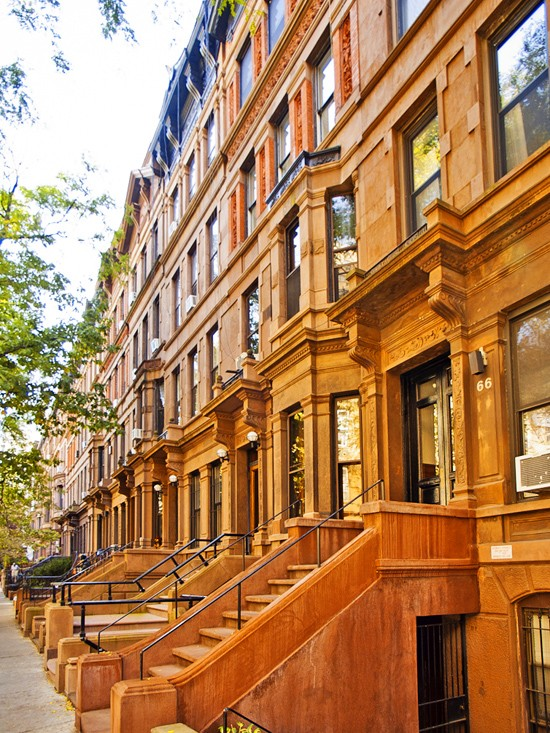 tree-lined streets in nyc