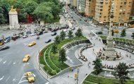 Columbus Circle on the Upper West Side