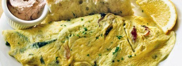 Italian Omelet at Good Enough to Eat on the Upper West Side