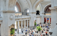 The Museum of Natural history on the Upper West Side