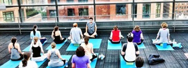 Upper West Side Rooftop Yoga