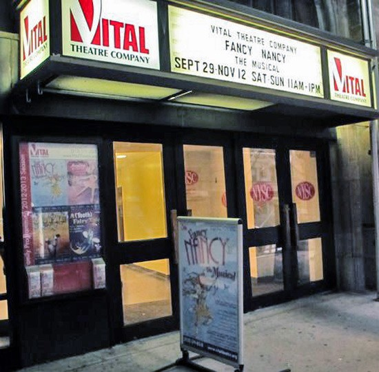 The Vital Theatre Company on the Upper West Side